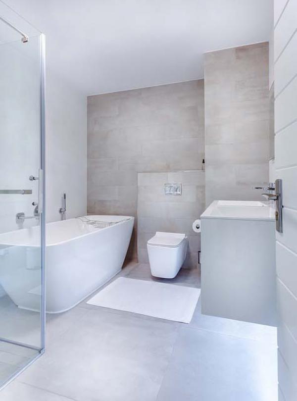 Choix carrelage dans la salle de bains