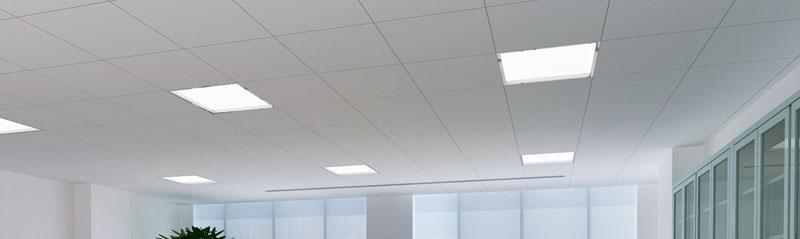 Dalles LED pour bureau