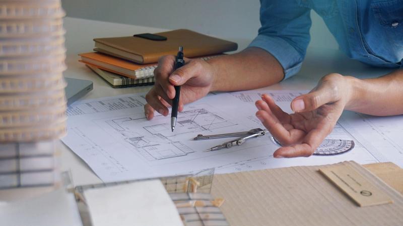Elaboration des plans de maison