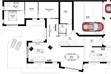 Plans de maison sur-mesure