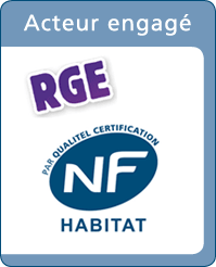 Rénovéa labellisé RGE - NF - Reconnu Garant de l'Environnement